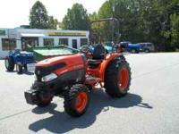 L 3940 KUBOTA 4WD TRACTOR 250 HRS LOADER READY 40 HP 33