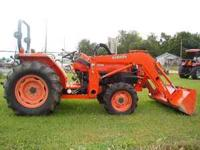 Great price on this 44hp Kubota, low hours, clean
