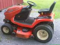 KUBOTA Lawn and Garden Tractor, Model GR2000, less than