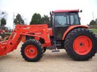 Kubota M105S 336hours 4wd loader 105hp 39950 call