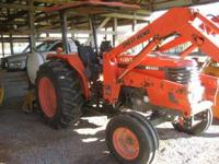 Tractor has 54 hp .973 hours In very good shape . Has a