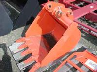 New pin on bucket for the Kubota M59TLB. Call  and ask