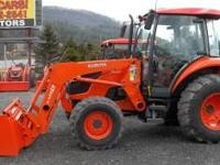 M7040 4X4 Tractor, Enclosed Cab, 70 HP, 550 Hours. Come