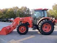 Kubota M9540, 95 Horse Power, Ultra Grand CAB/Heat/Air,