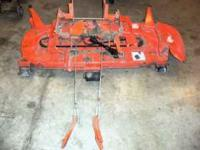 "60"" Mid mount mower deck, Kubota RC60-25. $435.00 obo."