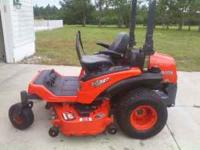 "KUBOTA ZG327 60"" DECK ZERO TURN MOWER HAS ONLY 65 HOUR"