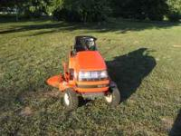 "Kubota Riding Mower 14 hp, 43"" cut, hydrotransmission"