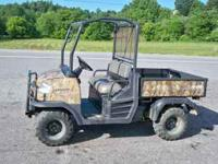 Kubota RTV900 Utlity Vehicle 22 HP 3 cyl. Diesel 800