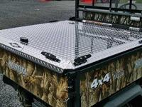 KUBOTA RTV 900 Metal Bed Cover ON SALE 4x4UTV.com