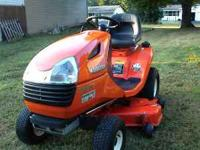 Very nice Kubota T1670 Riding Mower. Hydrostatic