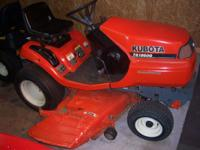 i have my kubota tg1860g riding mower for sale, it has