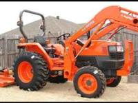 2010 Kubota L3400 HST with 73 Hours Industrial