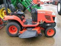 """Kubota BX2350 Tractor , 60"""" Mower Deck , Hydro Drive ,"""