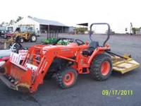 2005 kubota L-3400 34 hp 4x4 diesel front end loader