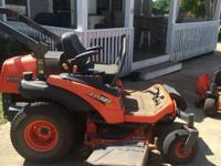 Kubota ZD321 is one of the toughest mowers on the