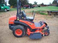 Kubota ZD326S mower good condition only 74 hours $9850