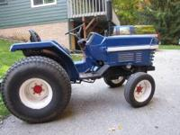 Kubota 2550 2WD 3Cyl. Diesel. This tractor used to be