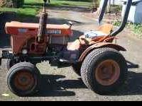 asking $3500 obo B6100 two wheel drive. Turf tires, new