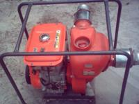 "kubota water pump 4""inlet and outlet 91 ft head 3600 8"