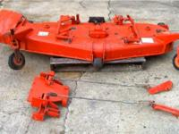 Kubota 6 ft. (72 inches) mower deck, model RC72-29A.
