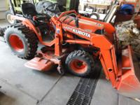 Kubota 7500 tractor 2003(as I remember) 259 hours, with