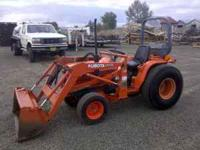 This is a Kubota B2150 which has a 2 stage clutch,