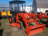 Get a gently used tractor at a great discounted price.