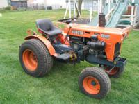 B6100E 2 wheel drive, 3 cylinder, liquid cooled diesel,