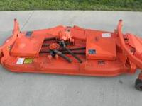 "60"" Belly mower, New Blades and an extra set of blades,"