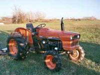 I have a kubota diesel tractor around 34 h.p. and 6