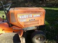 "�around 1985 Kubota g4200 lawn tractor for sale. 44"" or"