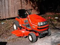 Nice little KUBOTA Riding Garden Tractor Mower. Model #