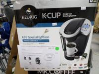Brand New IN The Box KUERIG K-CUP K65 SPECIAL EDITION.