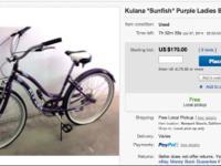 Ebay Listing# eBay item number: Bidding starts $150