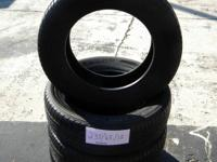 SET OF 4 USED TIRE KUMHO 2356518  	FOR MORE INFO CALL