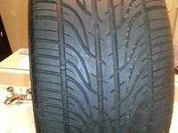 Up for sale is a set of (4) Kumho Ecsta V4ES tires with