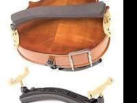 The Kun Original fits 4/4 and 3/4 size violins. Height