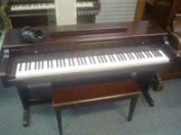 Nice Kurzweil Mark 10 digital piano, dark brown