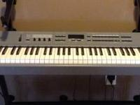 88 weighted keys. Bought new. Still like brand-new. Has