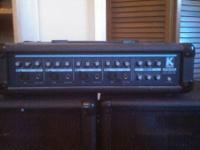 Kustom KPM4060 PA Amplifier/Mixer with 2 speakers LIKE
