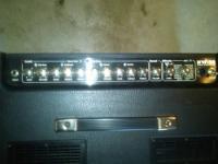 Kustom HV100 tube/hybrid combo amplifier has 2