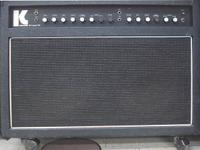 KUSTOM III LEAD SC GUITAR AMP, GOOD CONDITION, CAN BE