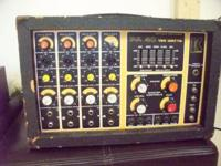 4 CHANNEL MIXER 125 WATTS IN GOOD WORKING CONDITION