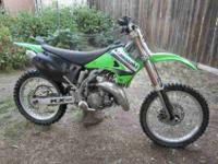 I HAVE A KX 125 WITH NEW TOP END AND AFTER MARKET