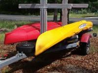 "MALIBU X FACTOR kayak $700 - 14'4"" x 33"" large, 625 lb."