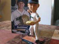 This is a 2015 Kyle Seager Bobblehead which was a