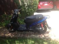 2012 Kymco Aglity 125. Has only 251 miles (only used as