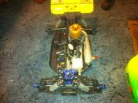 kyosho mp 777 WC $600 OBO losts of extra parts all hop