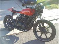 1981 Kawasaki KZ550 Cafe Racer one of a kind, New
