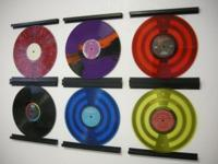 L.A. & N.Y.VINYL RECORD DISPLAY FRAME Inspired by the